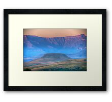 Early Misty Morn Framed Print
