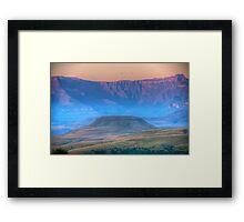 Early Misty Morn Framed Print