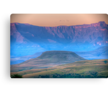 Early Misty Morn Canvas Print