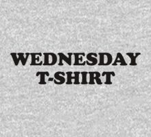 Wednesday t-shirt by WAMTEES