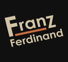 Franz Ferdinand T-Shirt by razaflekis
