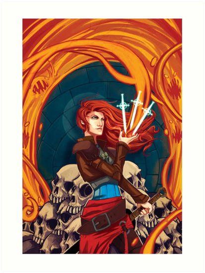 Fire Witch by rachelgeorge