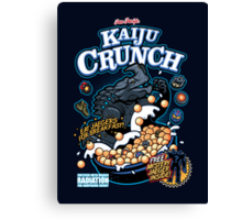 Kaiju Crunch Canvas Print