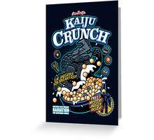Kaiju Crunch Greeting Card