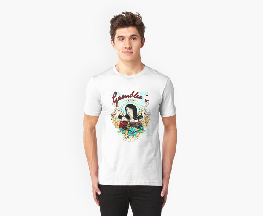 Gambler's luck by tshirt-factory