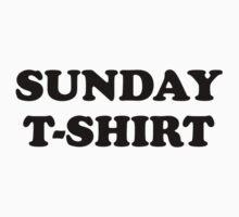 Sunday t-shirt One Piece - Short Sleeve