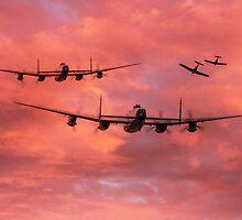 Spitfire Top Cover - Dawn Raid by J Biggadike