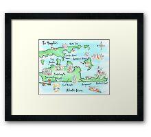 The Hamptons Framed Print