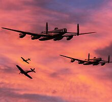 The Royal Air Force - Dawn Raid by J Biggadike