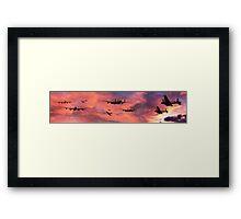 The Royal Air Force - Dawn Raid Framed Print