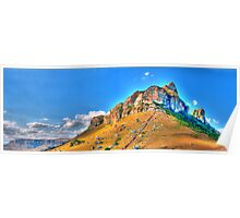RAPP Mountain Panoramic Poster