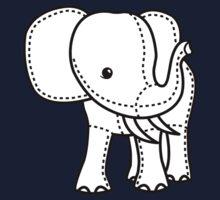 Elephant Toy Kids Tee