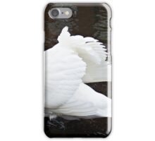 """""""As the tide gets higher the swans take advantage"""" iPhone Case/Skin"""