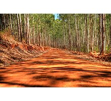 A Dirt Road Somewhere Photographic Print