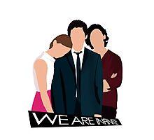 We Are Infinite | Perks quote | Sam/Charlie/Patrick Photographic Print