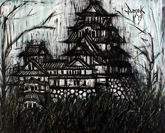 Himeji Castle by ZakDerek