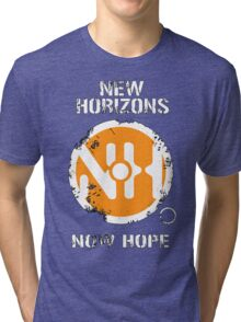 New Horizons T-Shirt - Inspired by Dead Space Tri-blend T-Shirt