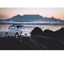 FIAT on Blouberg Beach 2 Photographic Print