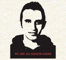Khaled Saeed w/ Text  T-Shirt
