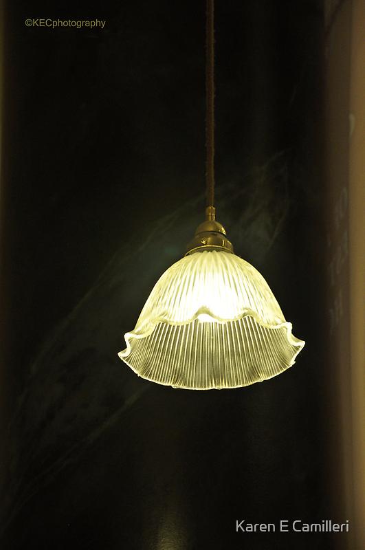 Fluted Lamp Shade by Karen E Camilleri