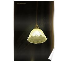Fluted Lamp Shade Poster