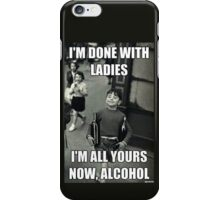 Forever Alone Motto iPhone Case/Skin