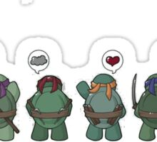 Tiny mutant ninja turtle Sticker