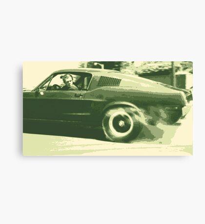 Steve McQueen from the film Bullitt Canvas Print