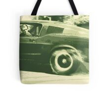 Steve McQueen from the film Bullitt Tote Bag