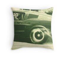Steve McQueen from the film Bullitt Throw Pillow