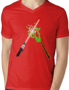 Darth Vader Vs Lord Voldermort. Mens V-Neck T-Shirt