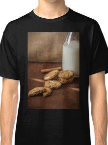 Homemade cookies and milk Classic T-Shirt