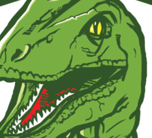 Velociraptors Sticker