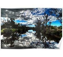 Avon River, Western Australia Poster