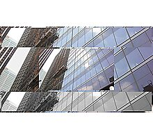 Scaling Windows Collage Photographic Print