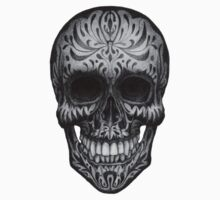 Paisley Skull by Julian Micallef