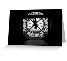 As Time Stops Greeting Card