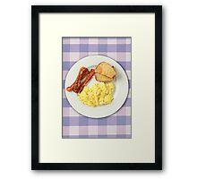 Ron Swanson's Breakfast Framed Print