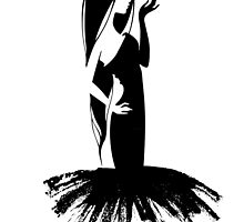 Woman's silhouette by SonneOn