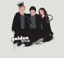 The Golden Trio | Art | Crown,Scar,Idea Tee by obsessivegeek
