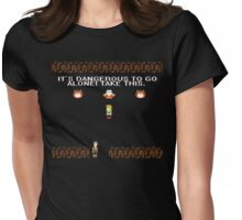 Don't Go Alone, Xena Womens Fitted T-Shirt