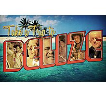 Send You On A Trip: Belize Photographic Print