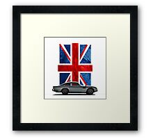 My name is 5, DB5 Framed Print