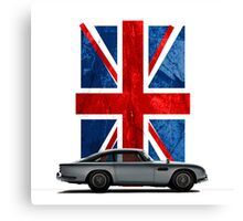 My name is 5, DB5 Canvas Print