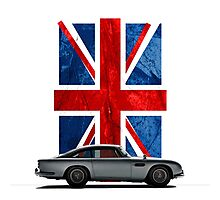 My name is 5, DB5 Photographic Print