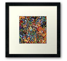modern composition 29 by rafi talby Framed Print