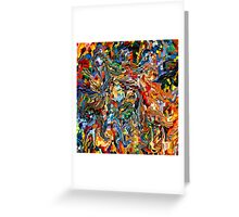 modern composition 29 by rafi talby Greeting Card