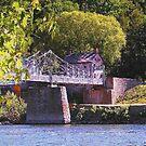 Walking Bridge to Lumberville by Marriet