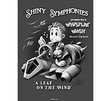 Shiny Symphonies: Whistlin' Wash Photographic Print