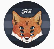Six Eyed Fox Kids Tee